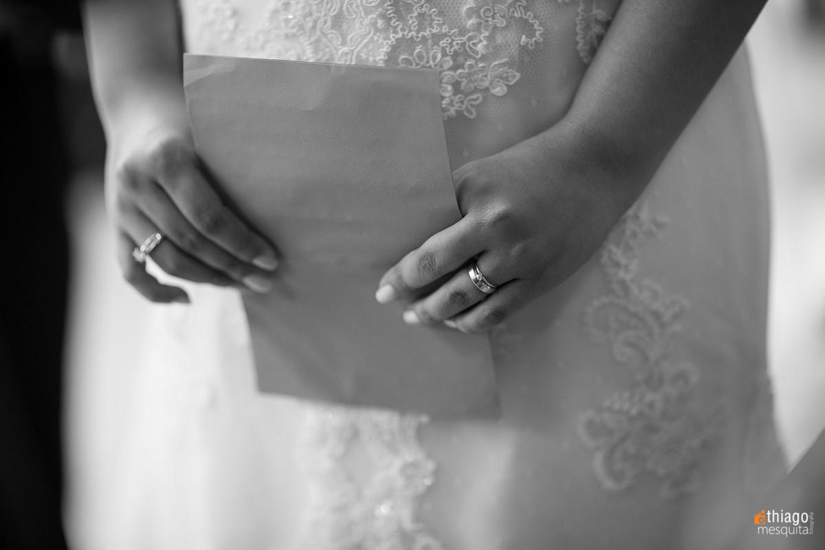 Carta para o noivo