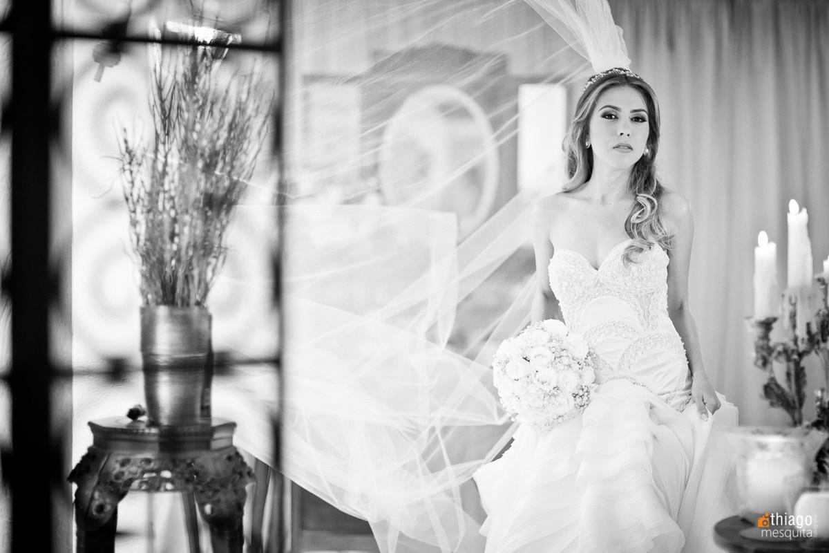 Véu de noiva ao vento - Rildo Noivas e Noivos - Thiago Mesquita Fotografia