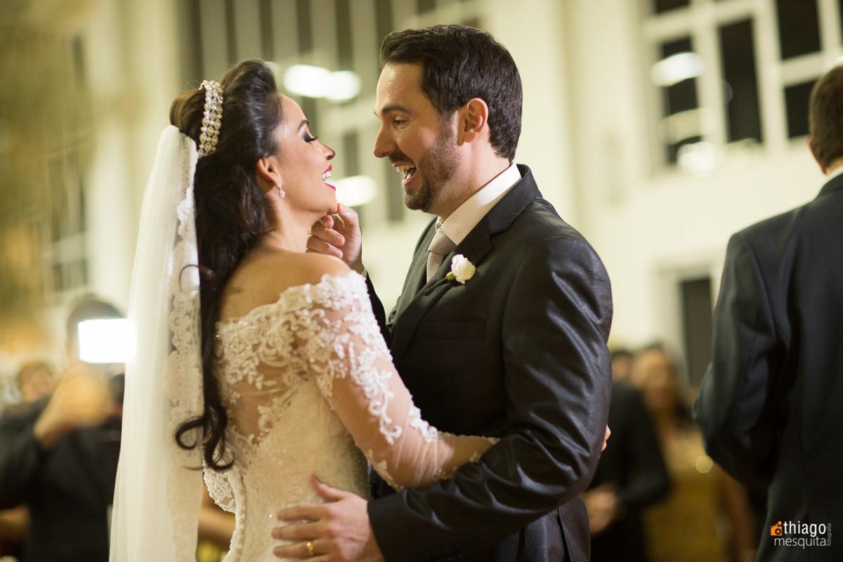foto espontanea de casamento
