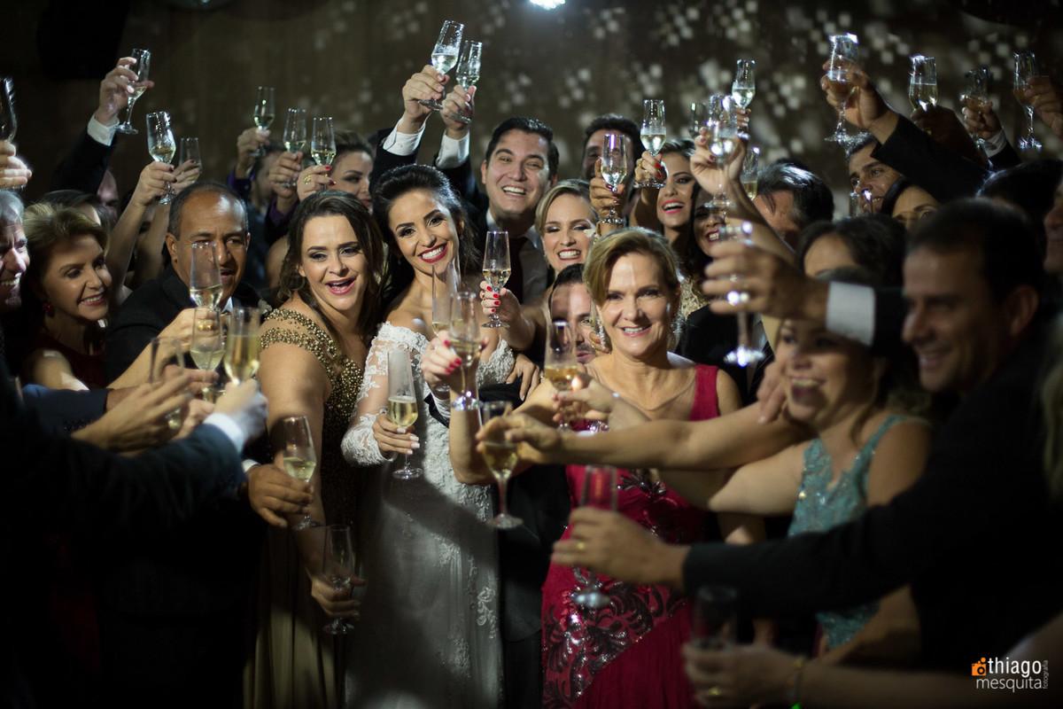 festa de casamento no salão de festas Cajubá Country Clube