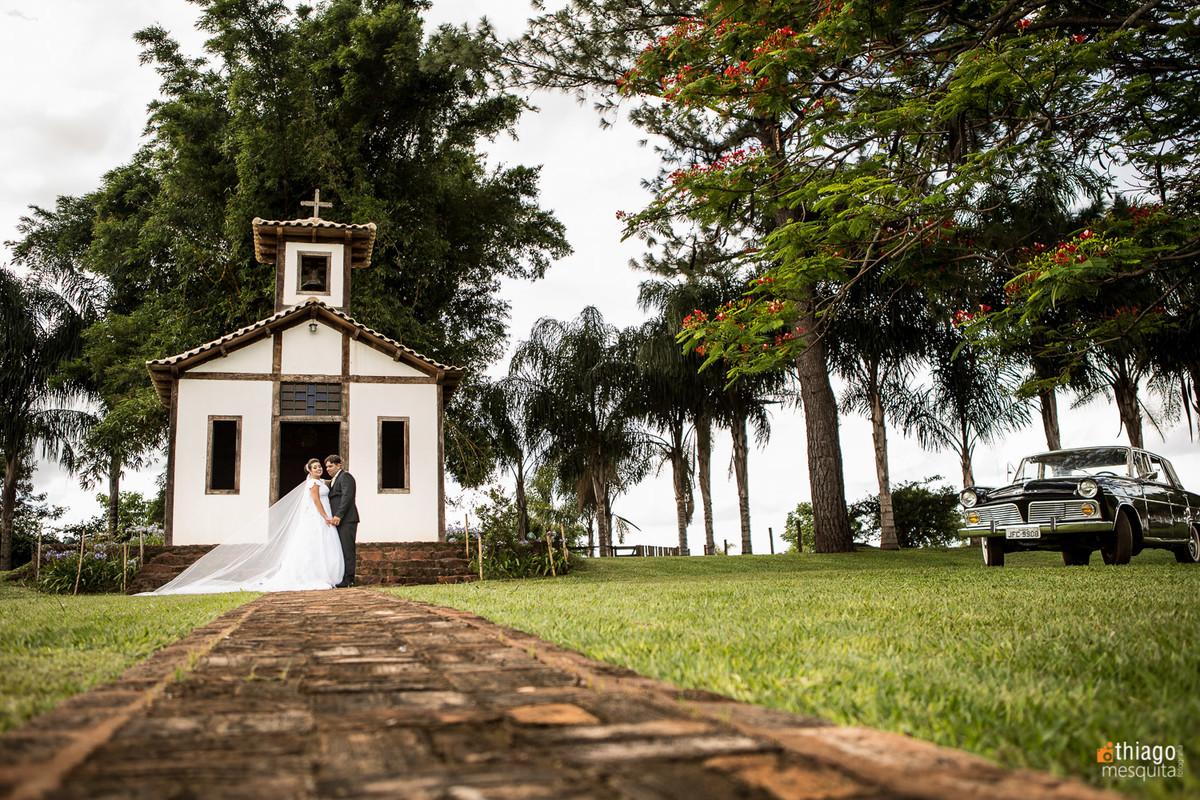 capela antiga - AfterWedding em Uberaba