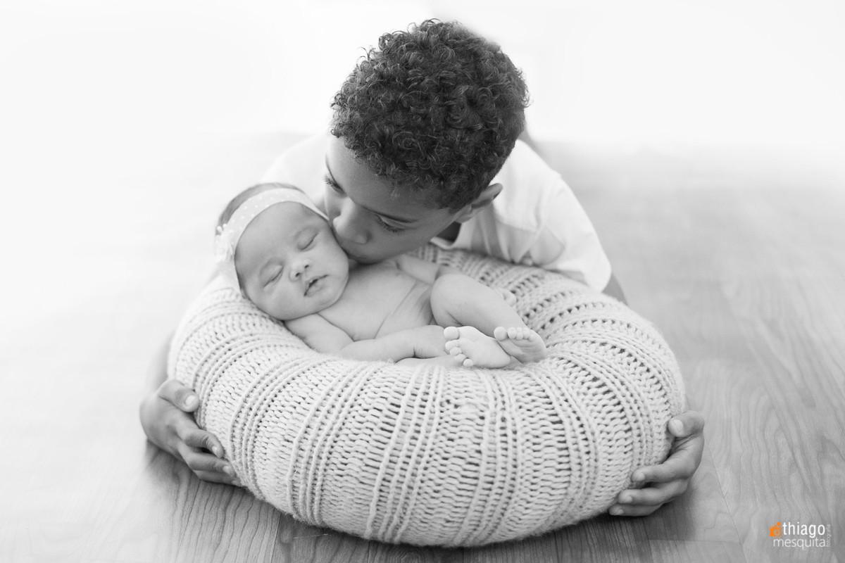 newborn foto de família