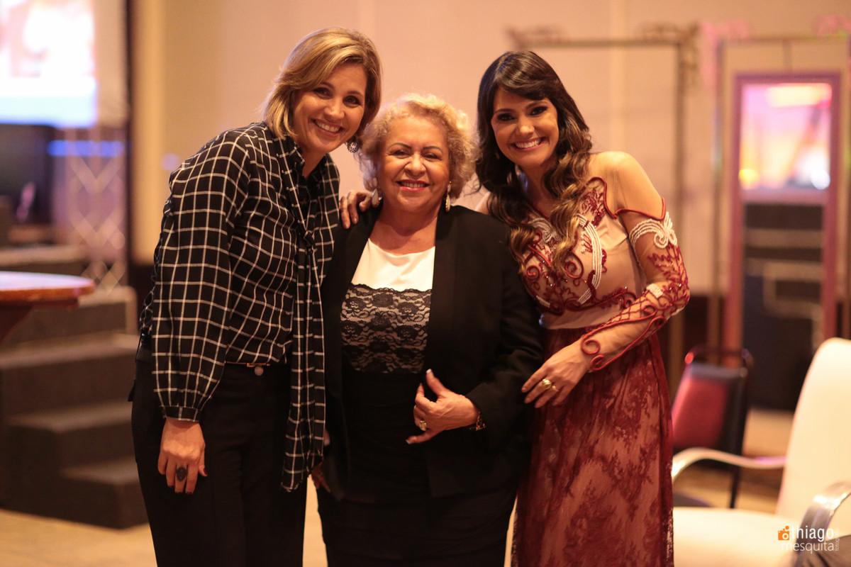 Andréia Magnino, Tânia Tereza Carvalho e Christie Tristão