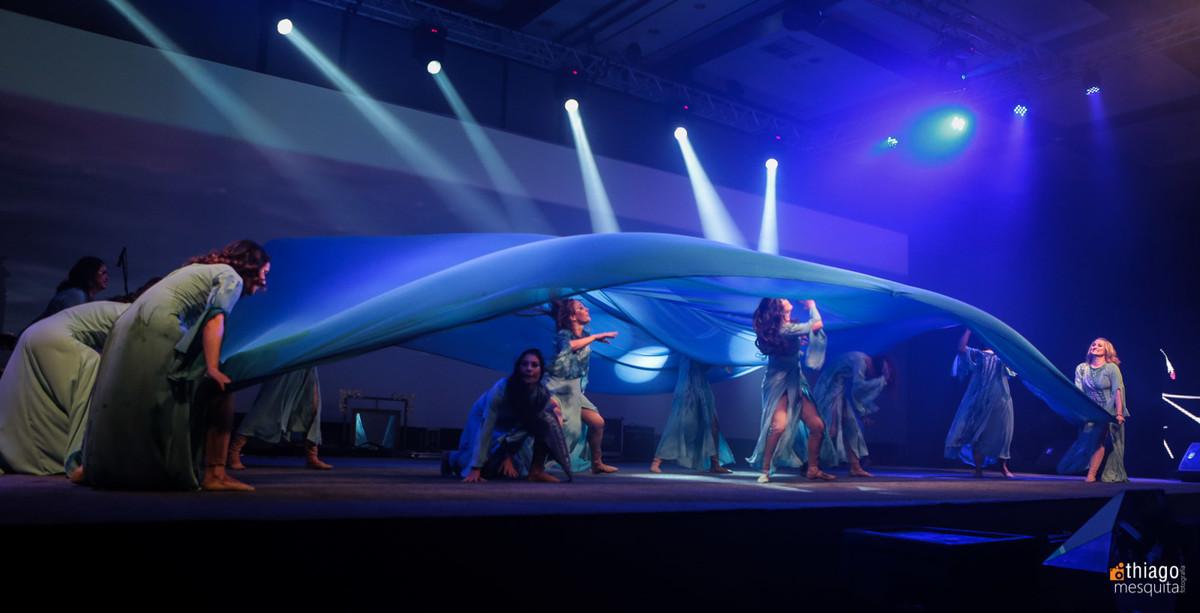 dança e teatro mulheres águias 2016 tecido