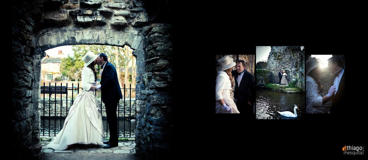 destination wedding castle