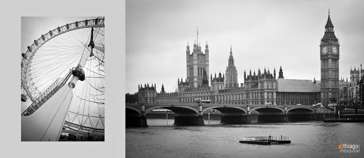foto clássica de Londres - Inglaterra - big ben