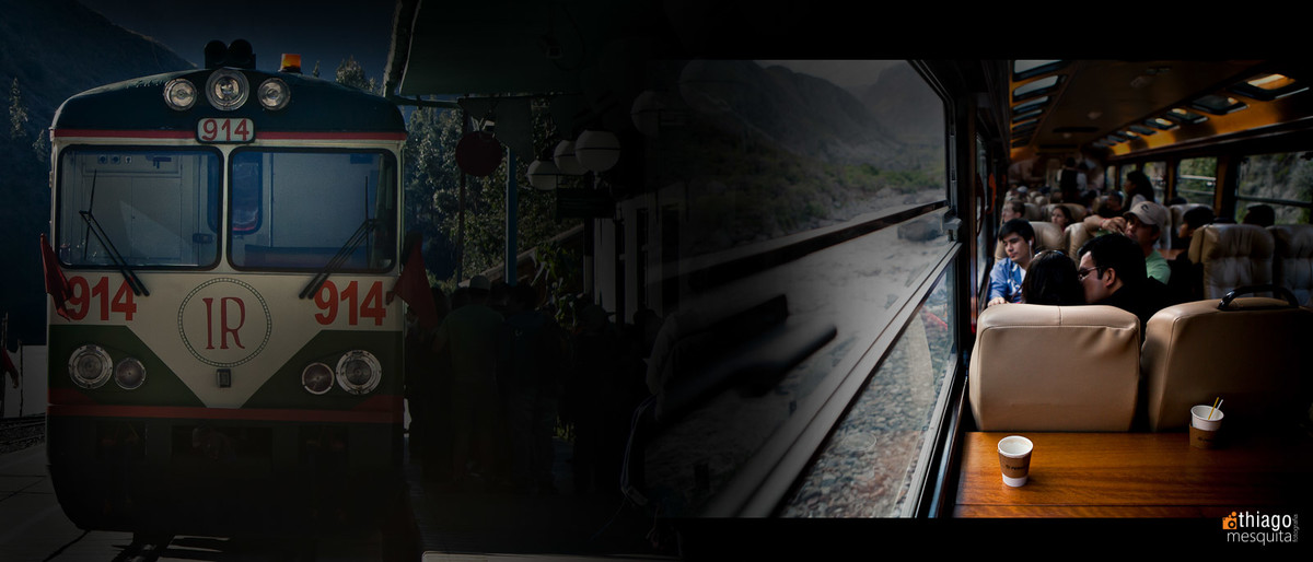 Inca Rail Perú Cusco Machu Picchu - por Thiago Mesquita