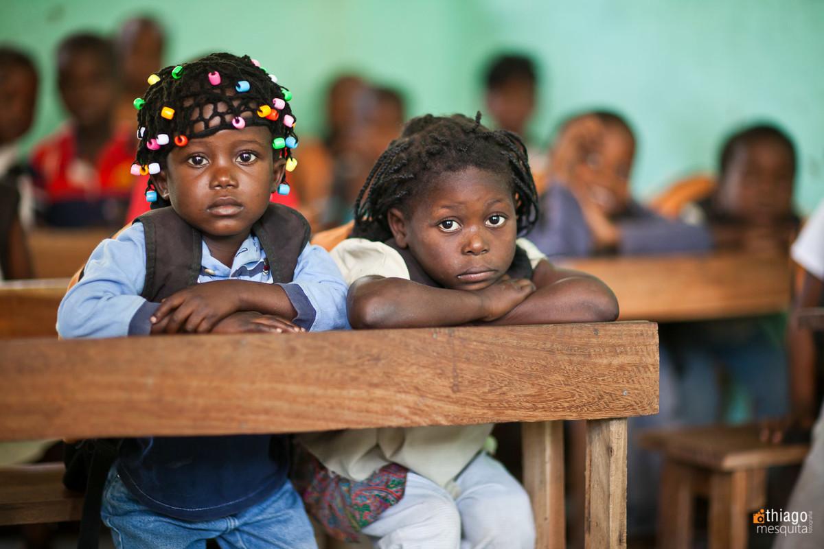 trabalho realizado com crianças africanas - missão áfrica ong