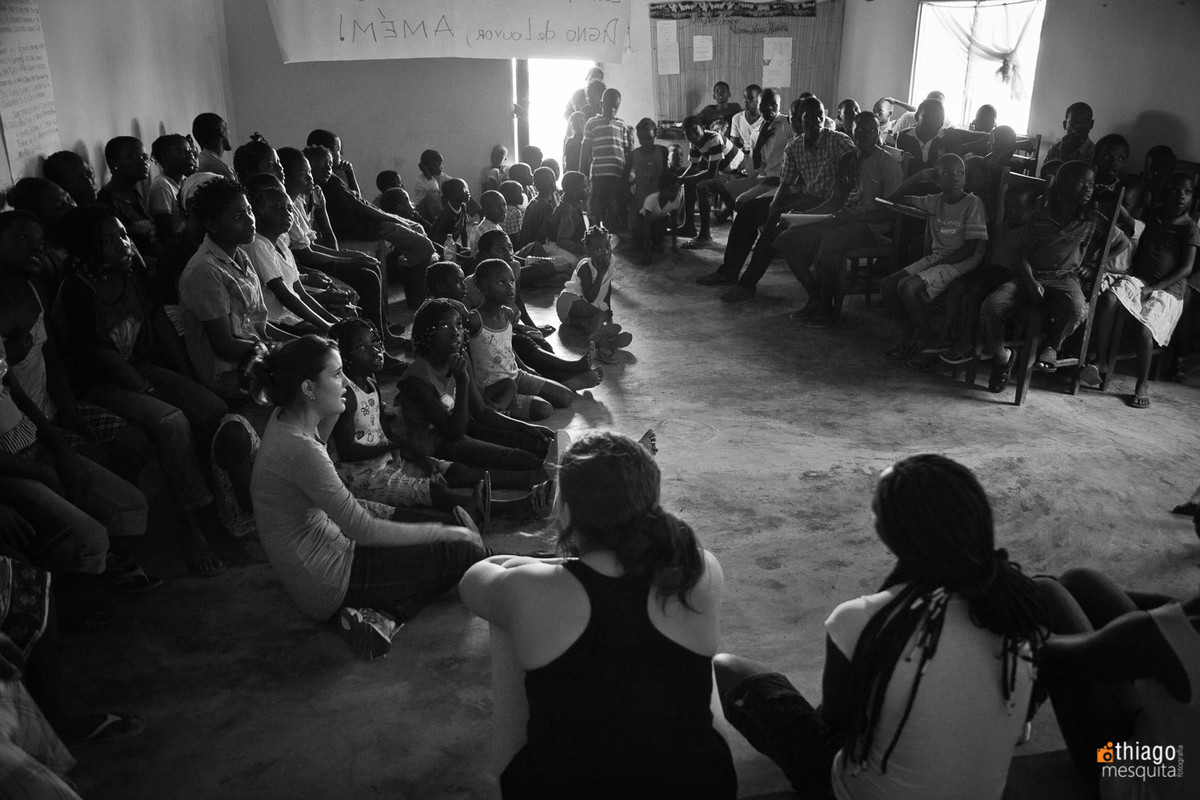 educação e oficina de artes e música na áfrica em dondo - jocum e missão áfrica