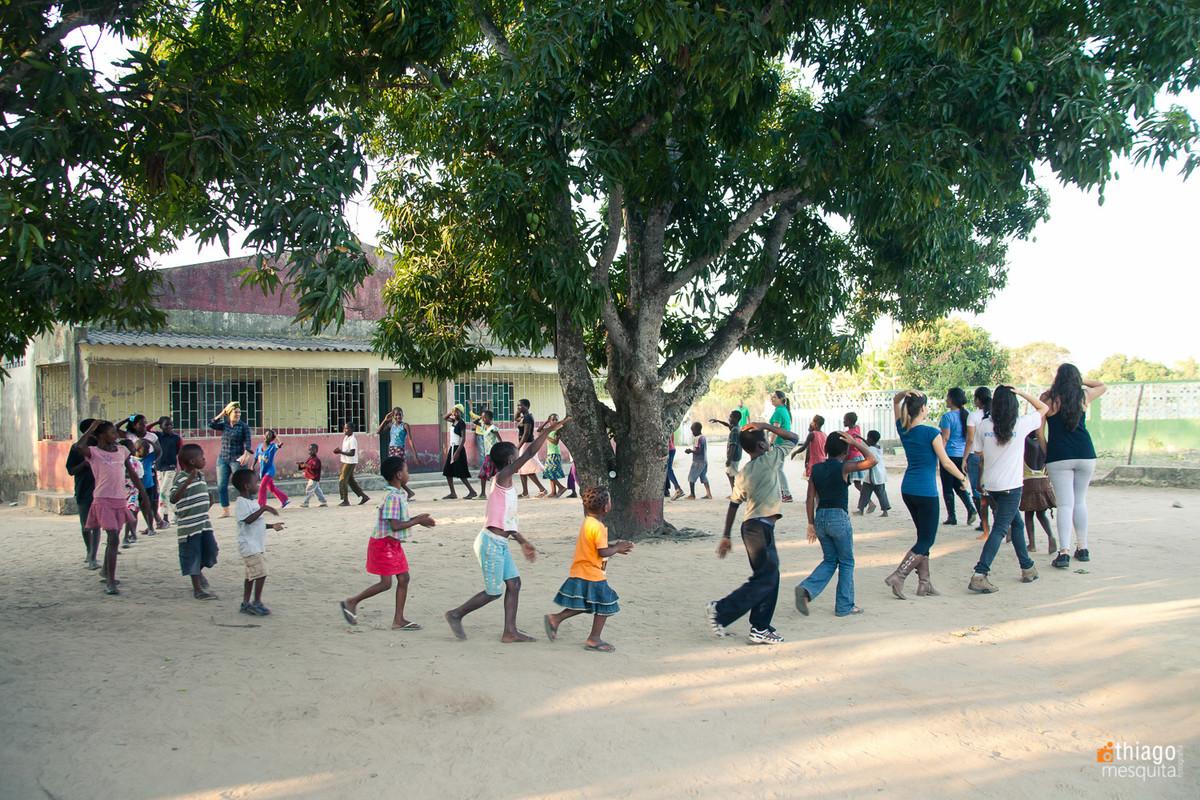 jocum dondo moçambique - missão áfrica - tempo de socialização e descontração