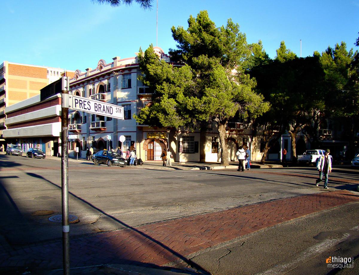 bluemfontein - south africa - pres brand avenue
