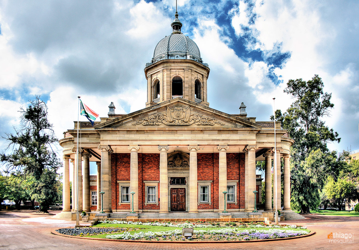 government place in bluemfontein - south africa