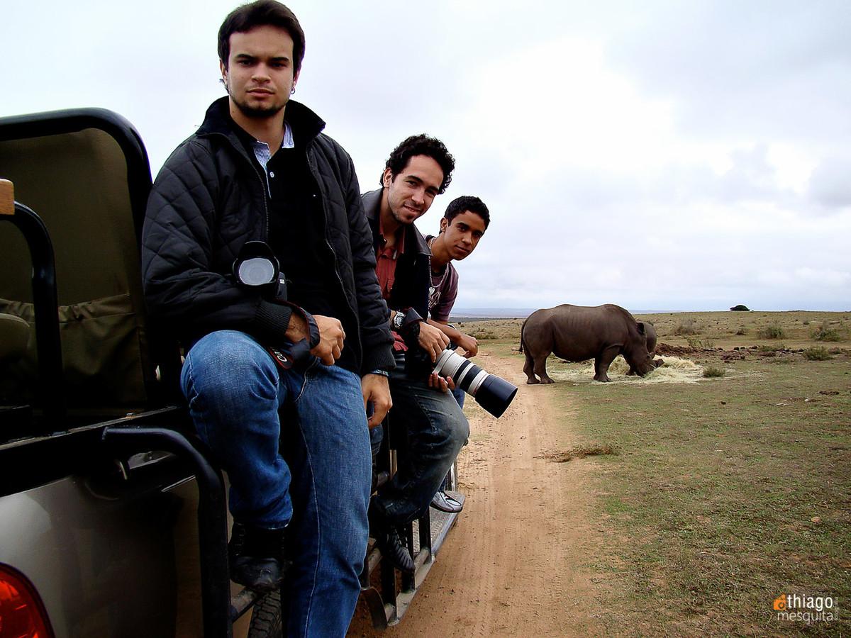 safari na áfrica - thiago mesquita, luiz fernando e Mateus alberone