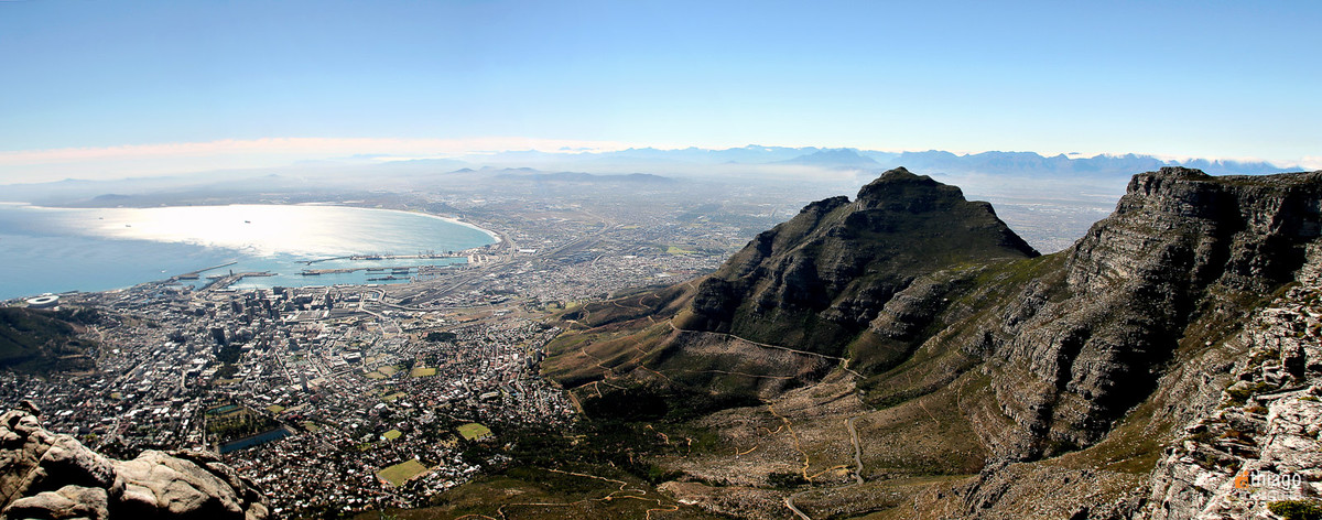 table montain - montanha da mesa - south africa - Africa do sul panoramic