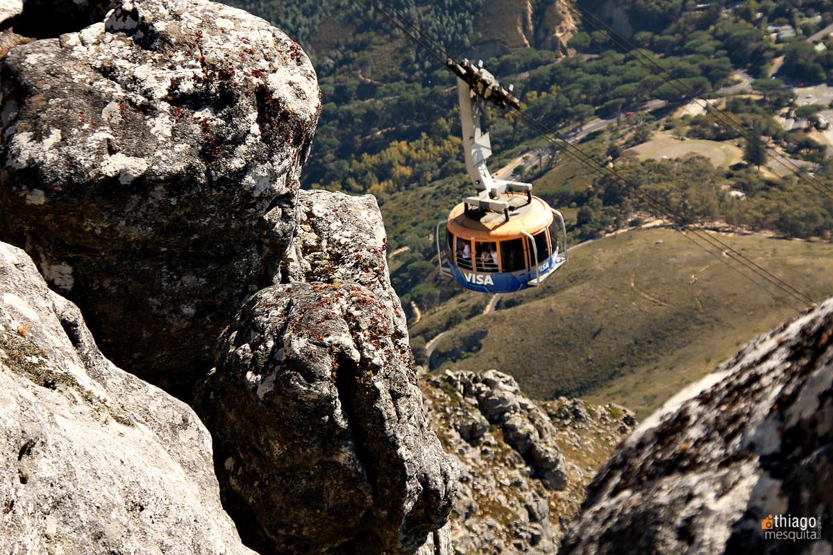 table montain - montanha da mesa - south africa - Africa do sul teleférico