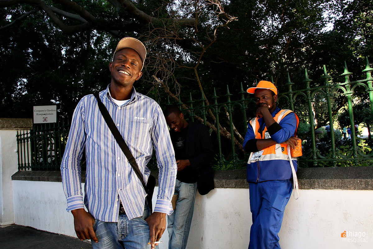 trabalhadores africanos - south african workers