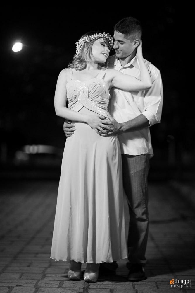 sessão noturna de fotos para casamento