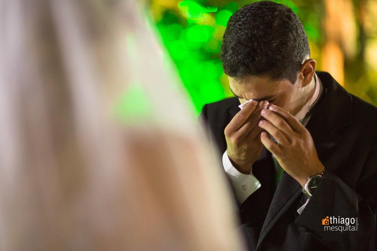 votos de casamento com lágrimas. Thiago Mesquita. Uberlândia