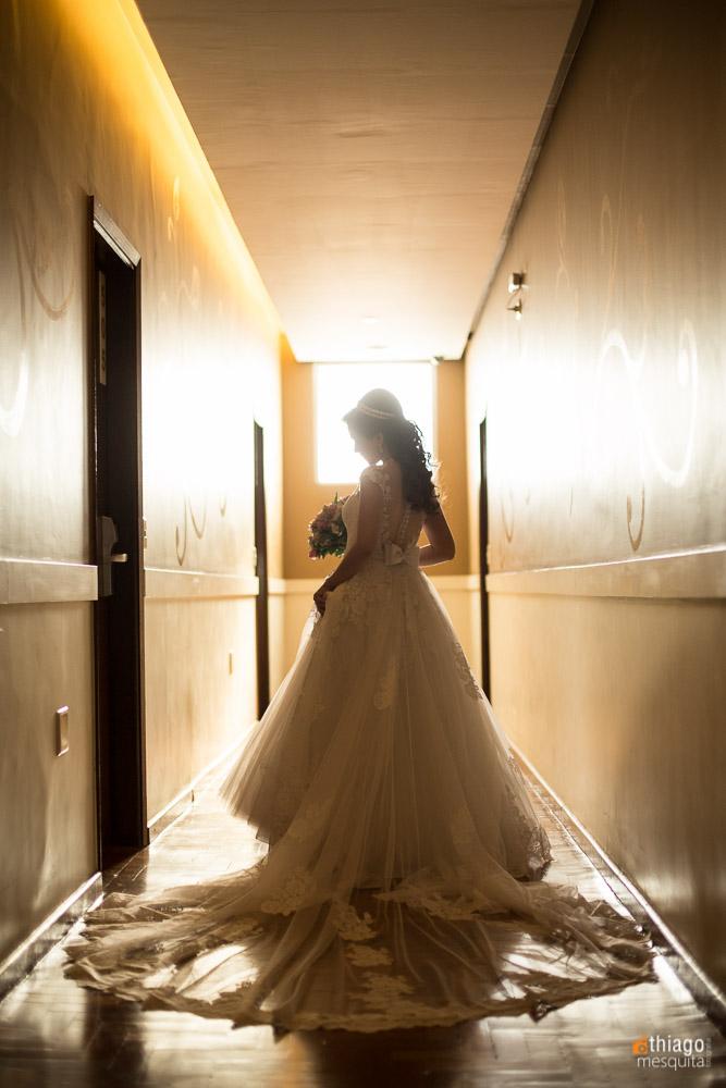 corredor do hotel presidente foto de noiva