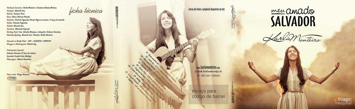 Karla Monteiro cantora gospel