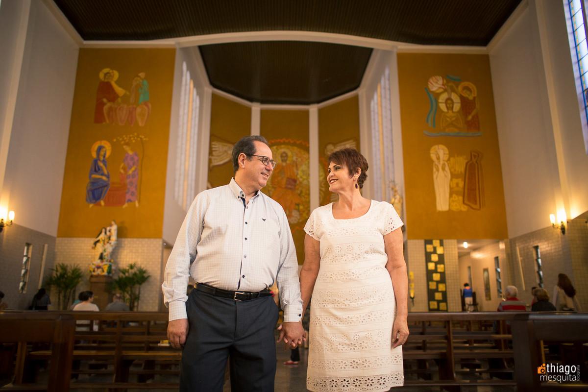 bodas de esmeralda Virginia e Odorico