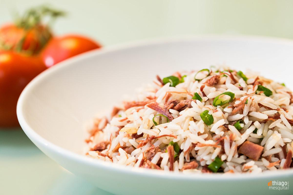 fotografia de alimentos - los gourmets - thiago mesquita - uberlândia - arroz com carne seca