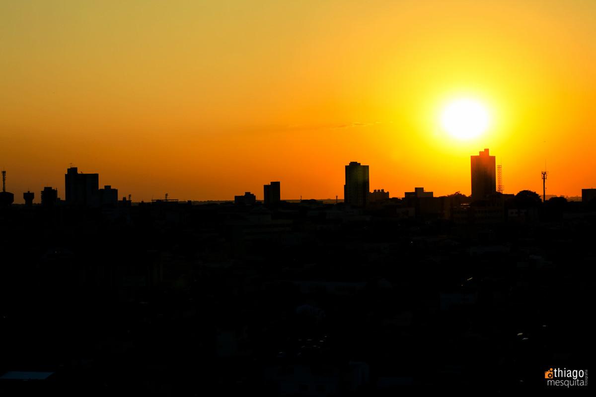 por do sol em uberlândia