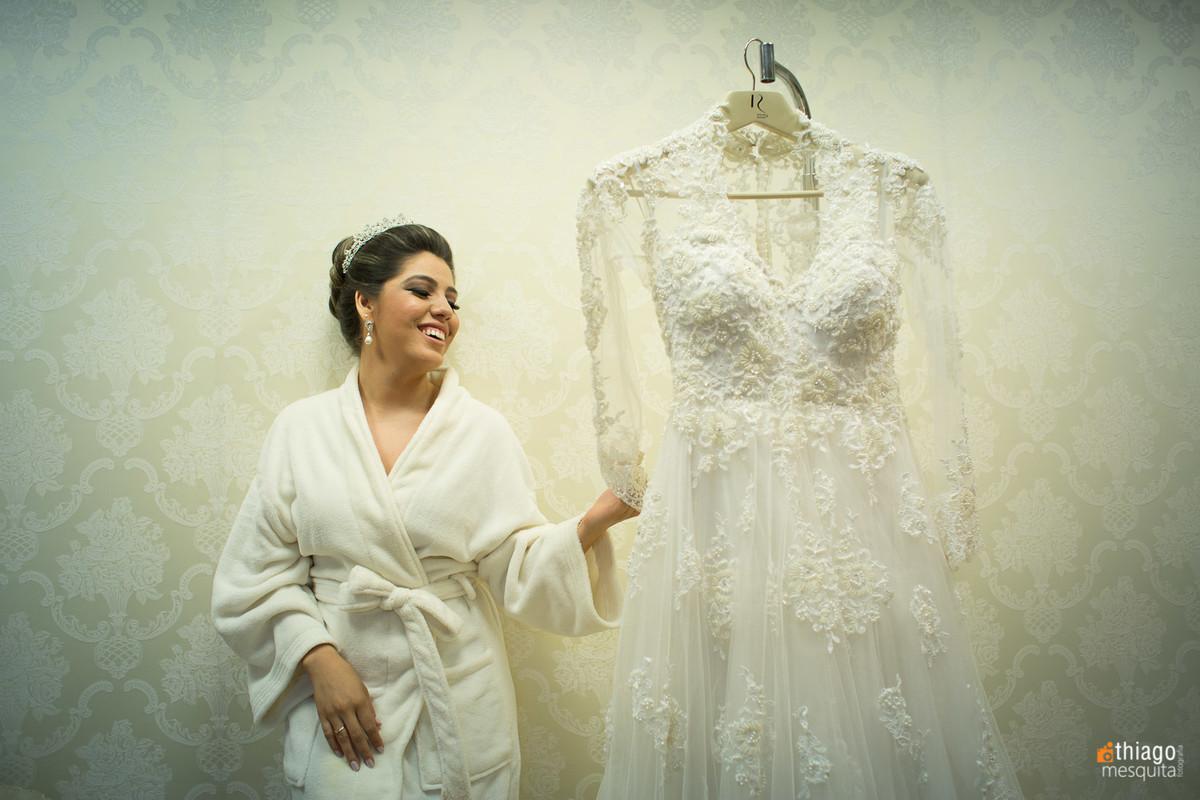 vestido de noiva Maisa Pires
