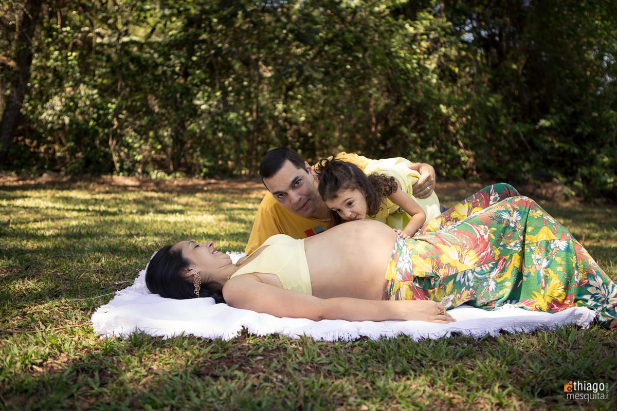 família - gestante - noah