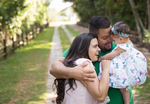 Família de Alice | Luciana e Sergio