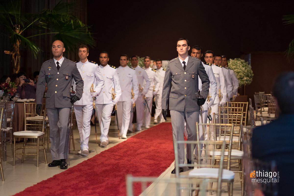 casamento militar evento de gala em araguari