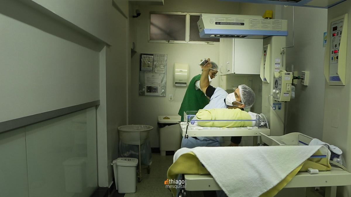 Fotografia de Parto. Clinica Santa Clara