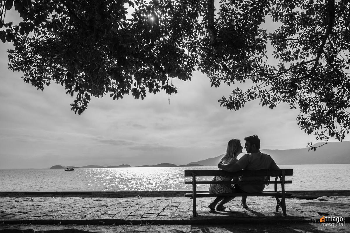 ensaio fotografico pre casamento em preto e branco