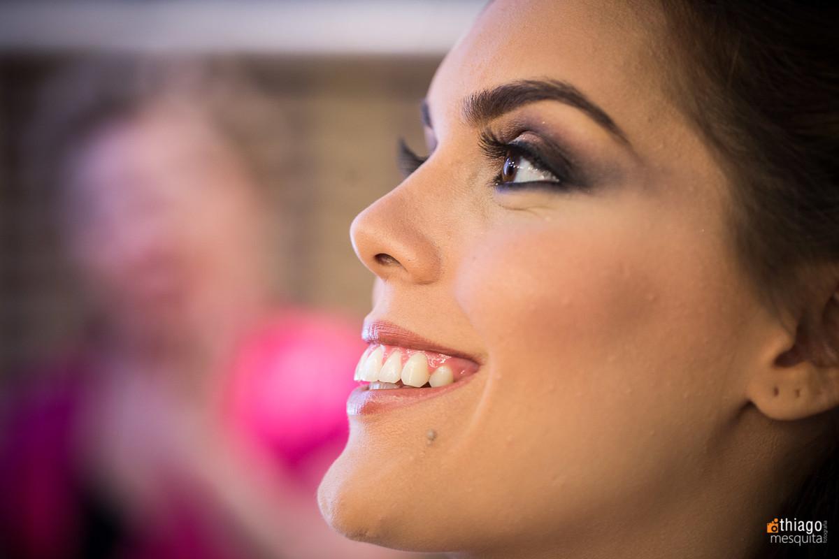 make up da noiva Thais