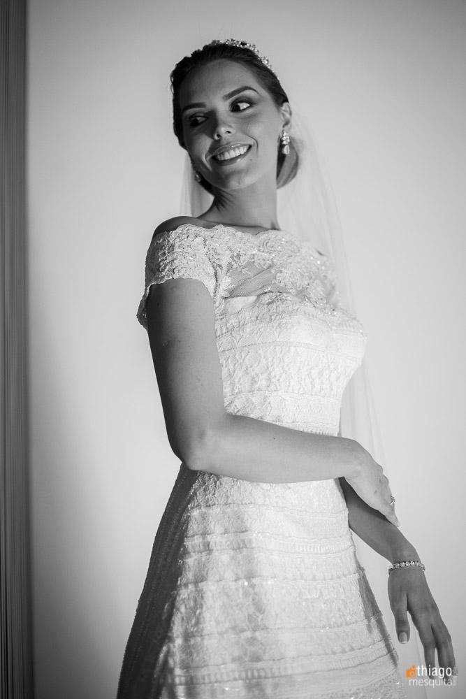 noiva em preto e branco