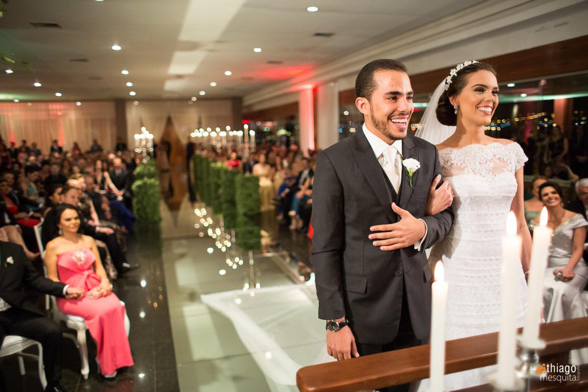 cerimônia de casamento no clube naval de Brasília