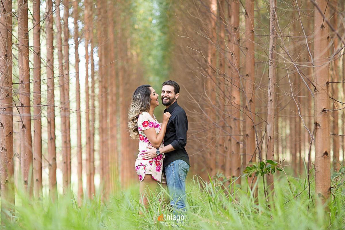 sessão de prewedding no bosque de araxá