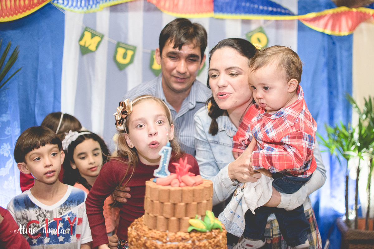 aniversário, aniversário infantil, arraiá, festa julina, festa junina, Casa da Roça, 1 aninho, 1 ano, faz 1