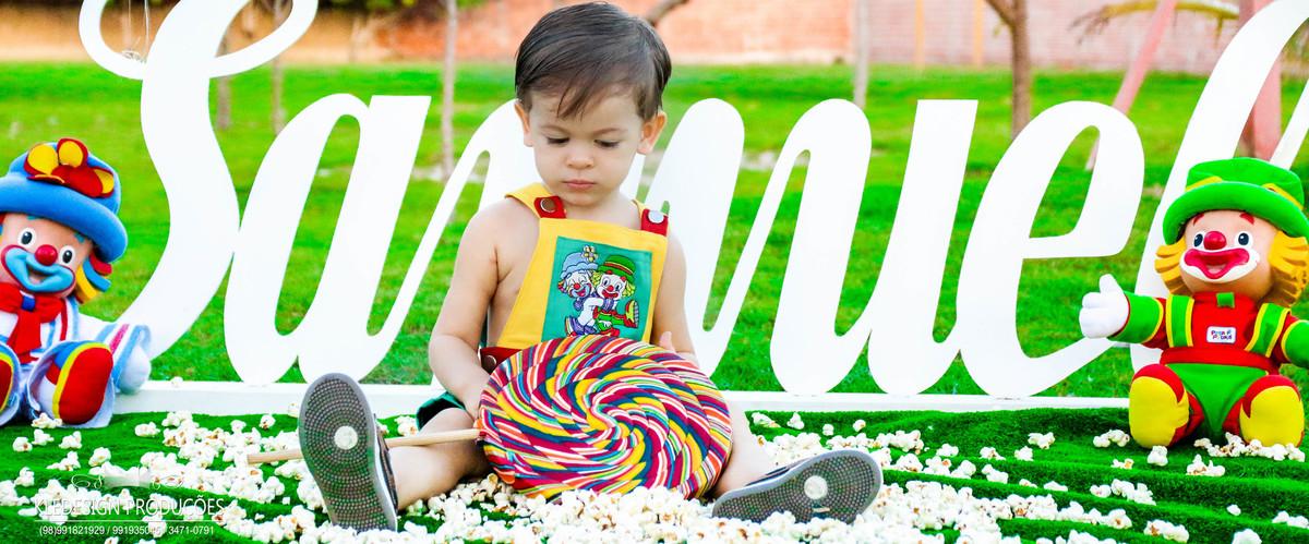 Foto de Samuel - 2 Anos