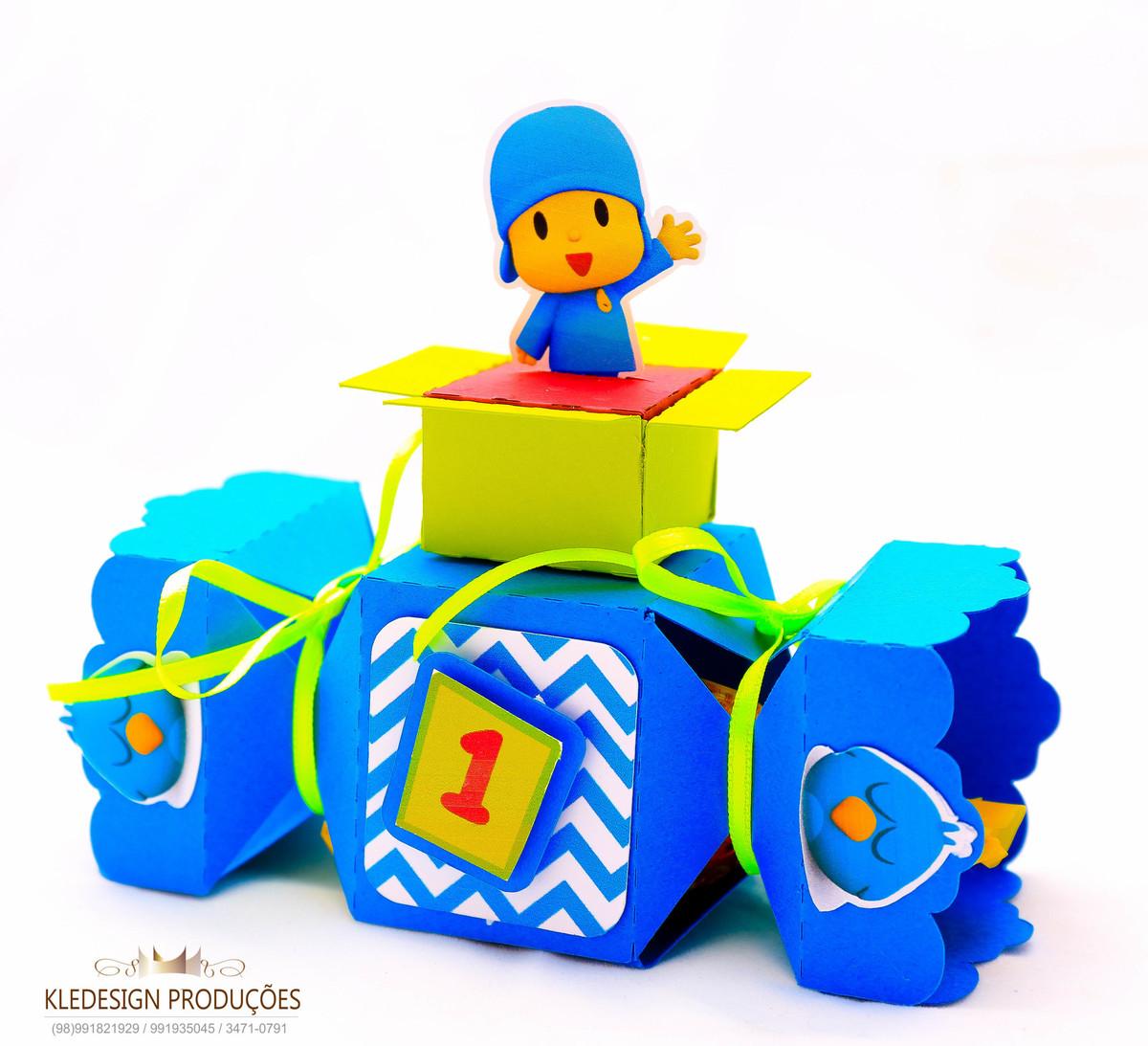 #personalizados pocoyo - box bala