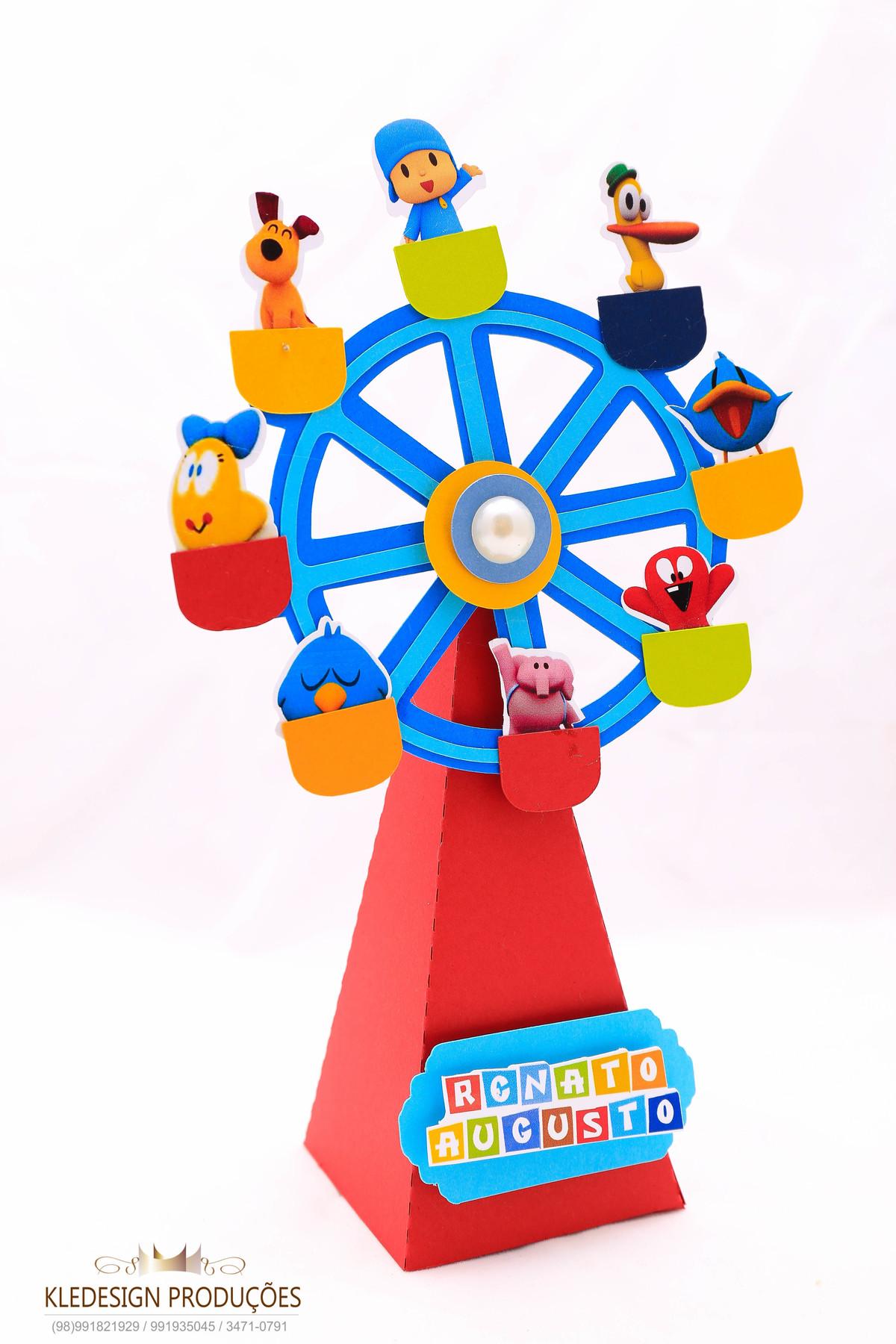 #personalizados pocoyo - roda gigante