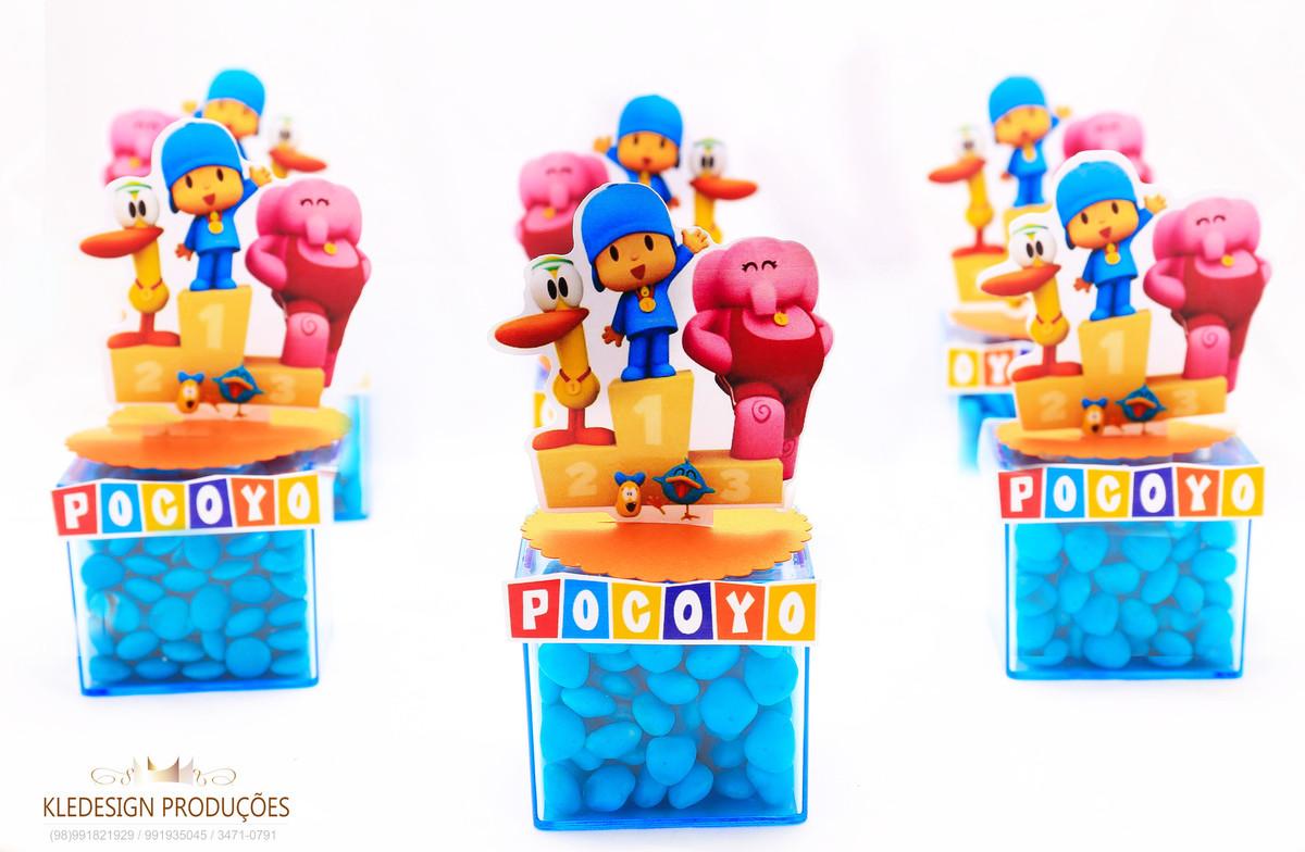 #personalizados pocoyo - caixa de acrílico