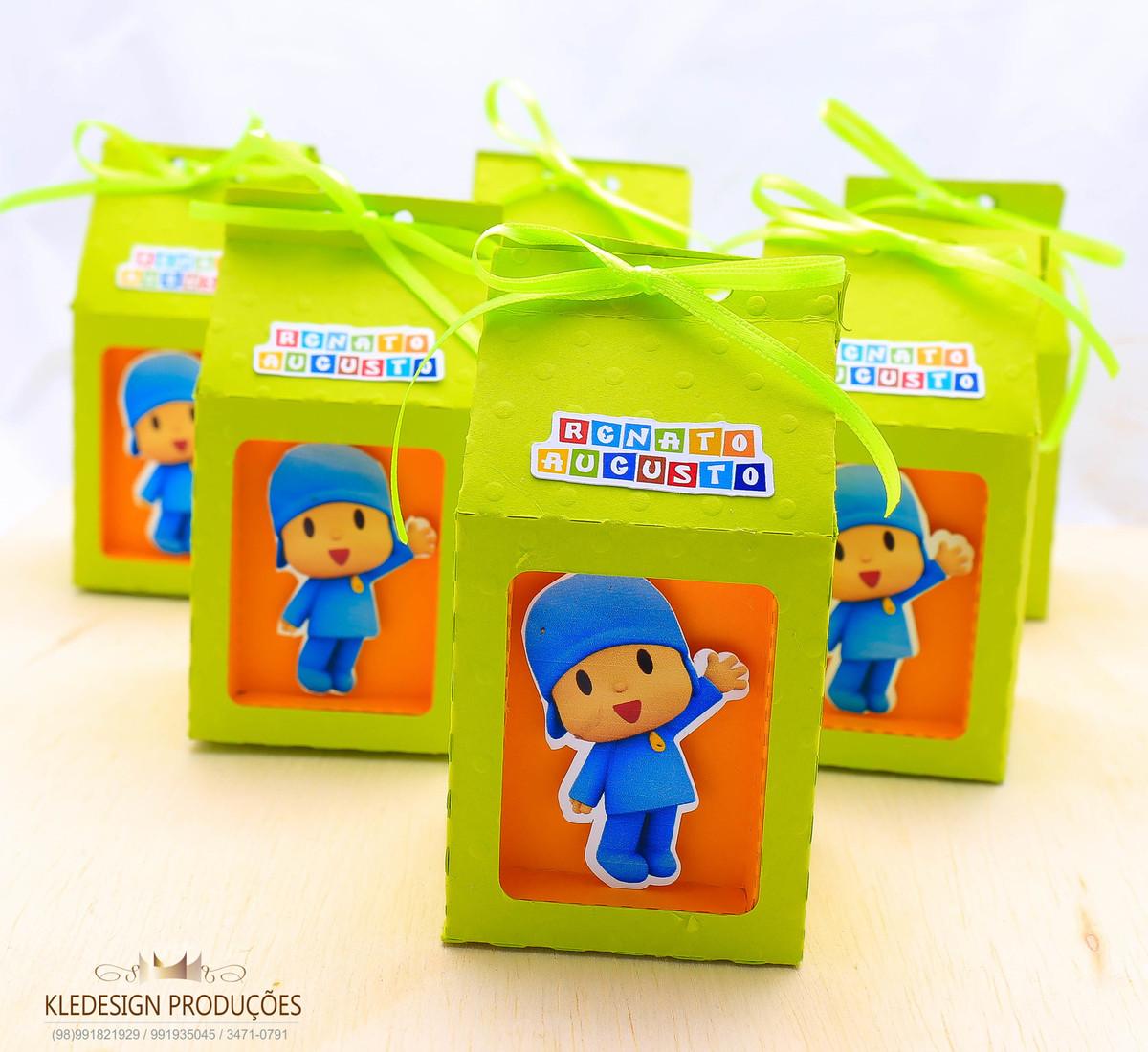 #personalizados pocoyo - box poá