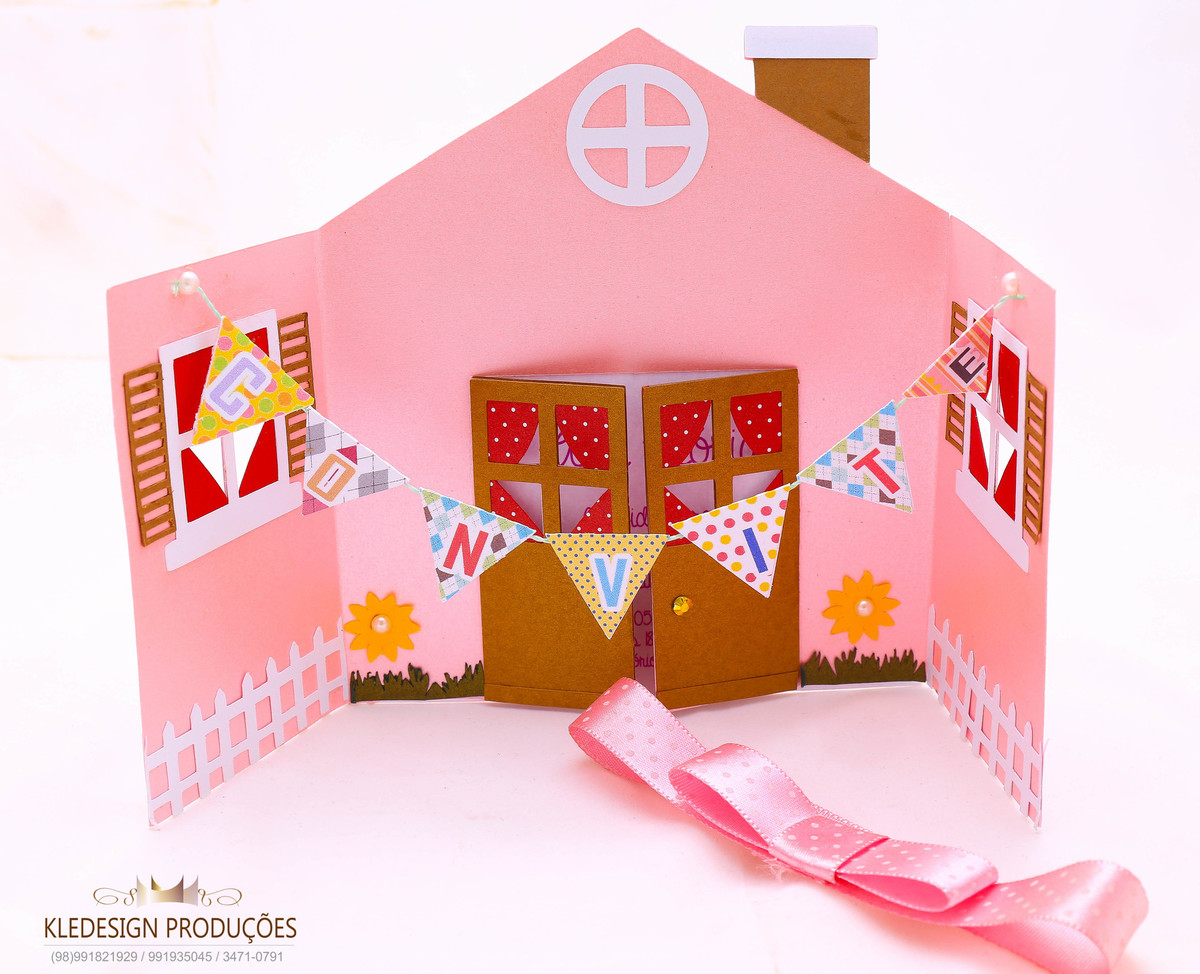 Foto de Convites Infantis  para meninas