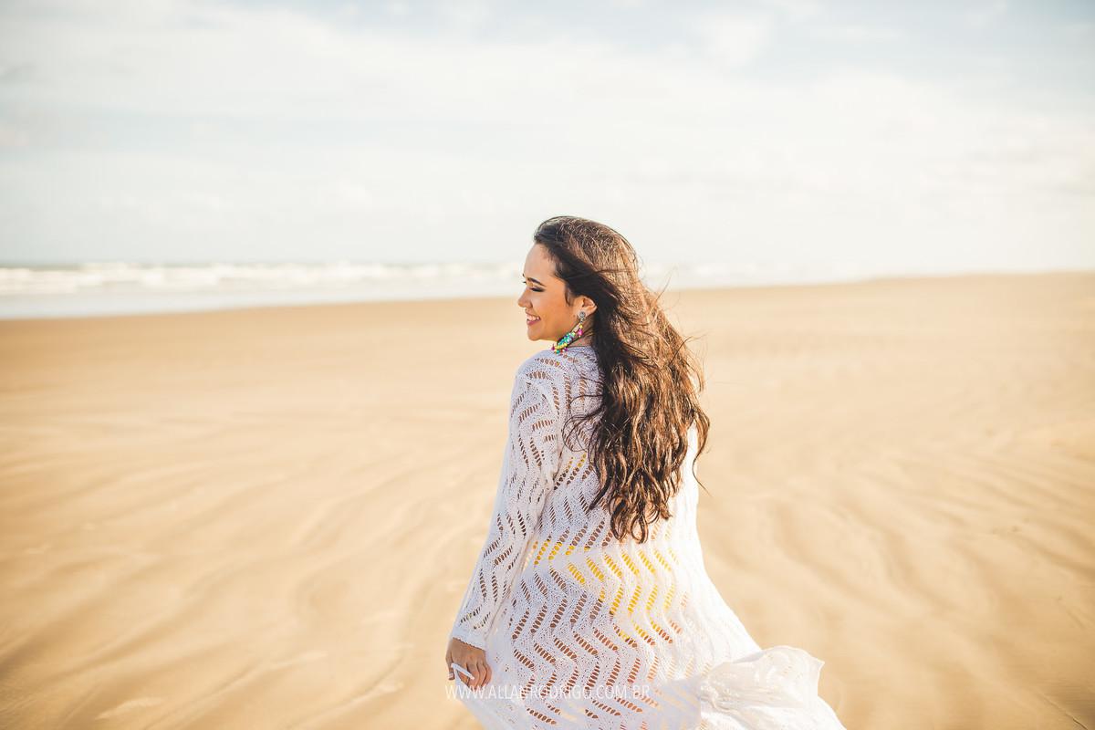 Ao vendo na praia de Aracaju Sergipe - ensaio