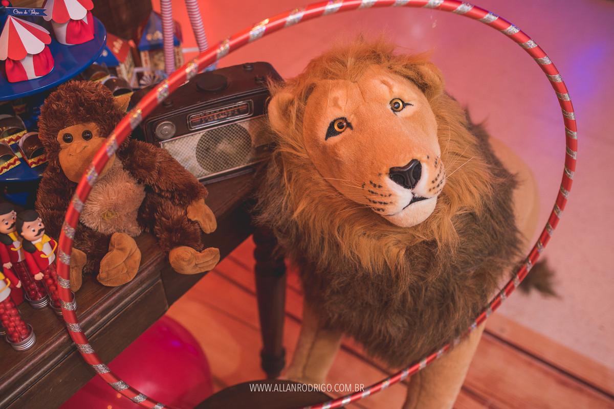 Leão no tema circo Aracaju