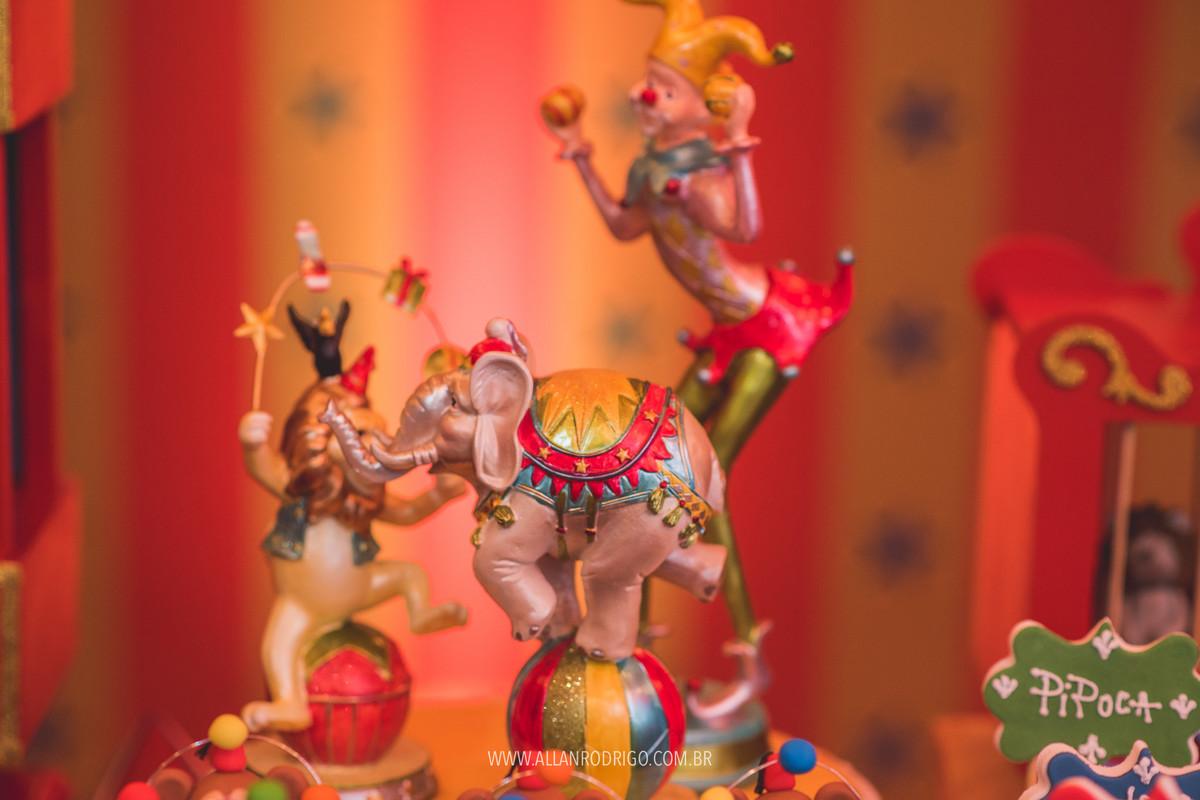 Chocolates personalizados em Aracaju lepetit tema circo