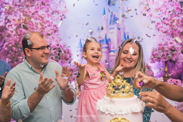 ANIVERSÁRIO INFANTIL de Aniversário da princesa Cecília