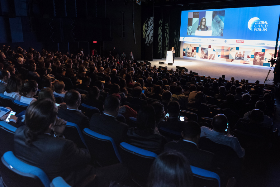 Global Child Forum on South America in april 2017, photographer Romero Cruz