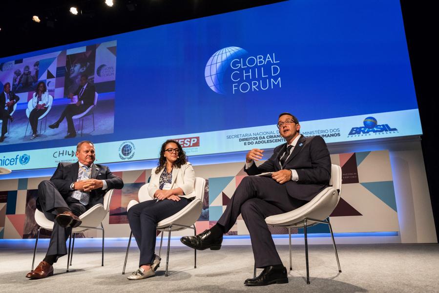 Debate durante o Global Child Forum on South America na sede da FIESP em São Paulo-SP fotografado pelo fotógrafo corporativo Romero Cruz